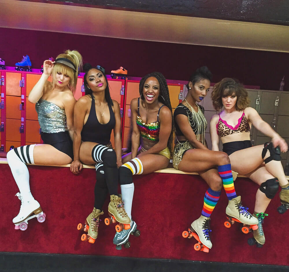live event performers los angeles roller skaters girls asher entertainment 89