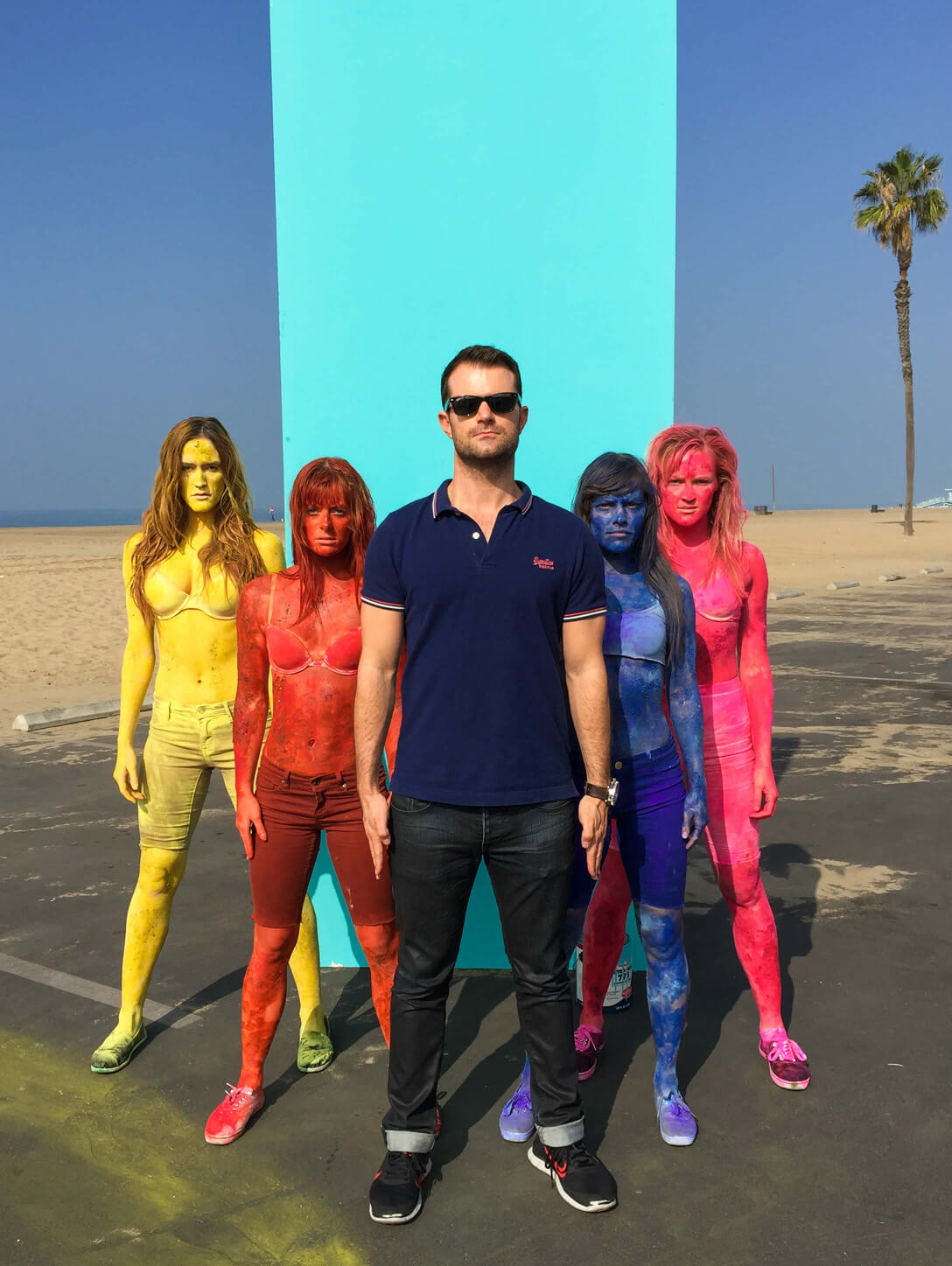 live event performers los angeles colorful body paint asher entertainment 106