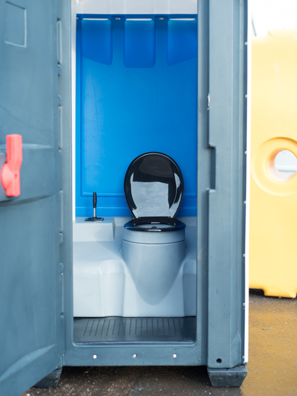 Interior featuring recirculating flush toilet