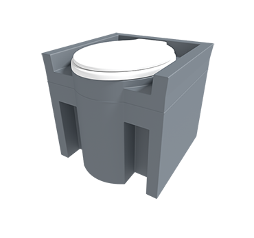 Plastic Commode Tanks for commercial use