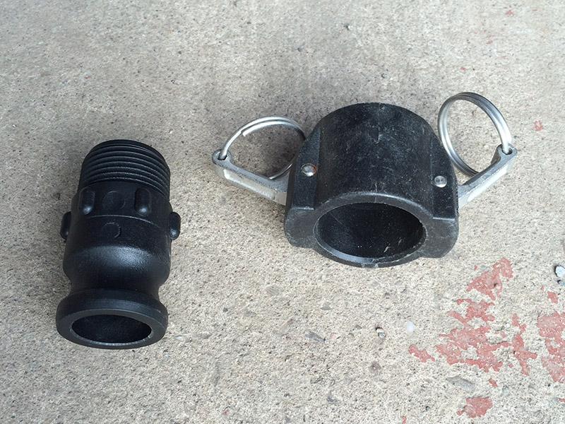 Dust Cap and Adaptor