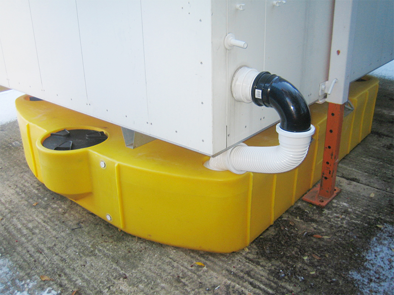 "4"" connection with Toilet Trailer"