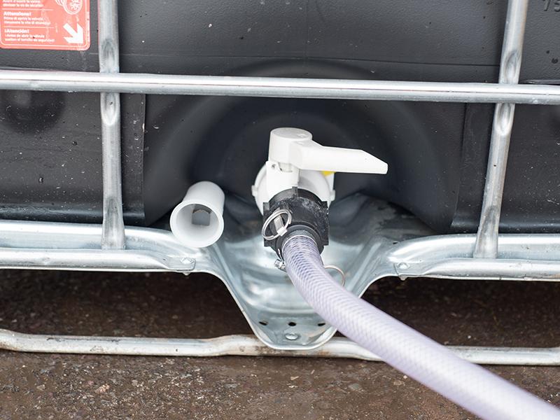 IBC - drain valve
