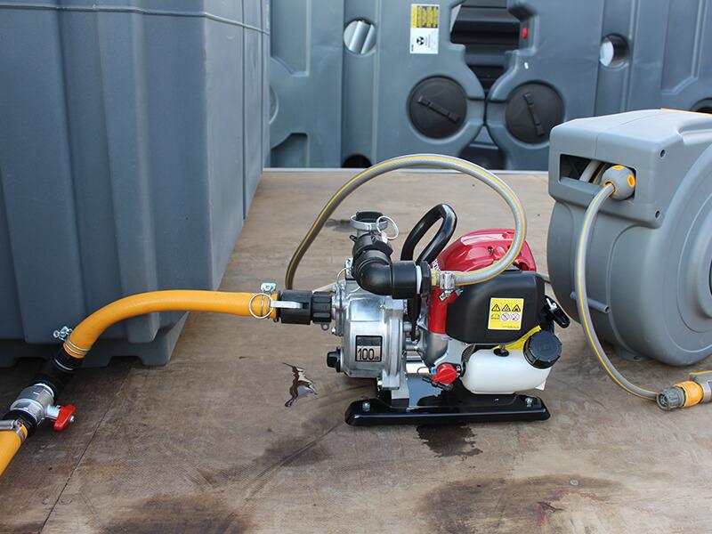 Honda Water Pump tank connection