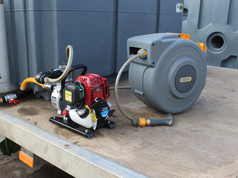 Honda Water Pump and hose reel