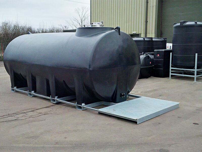 Horizontal Tank Effluent or WRAS certified potable water tanks
