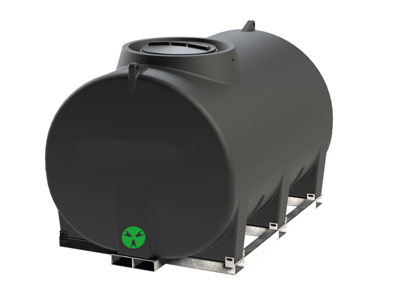 Above Ground Horizontal Storage Tank