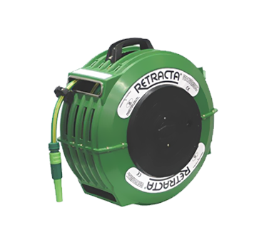 "Hose Reel = ½"" Hose - Auto-retracting"