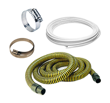Suction Hoses & Hose Clips