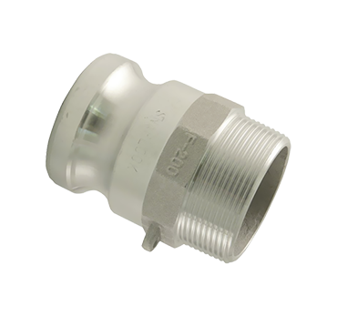 "Male Adaptor - Part F - 2"" - Aluminium"