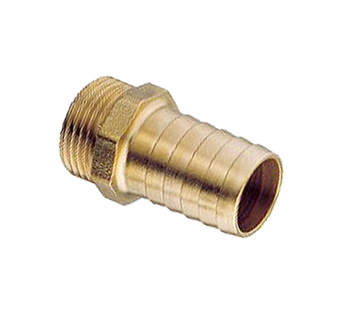 "Hose Tail - 1"" BSP - 1"" Barb - Brass"
