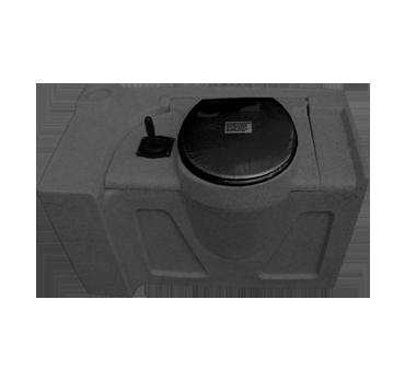 Flush Tank - 80 Litres - dark granite