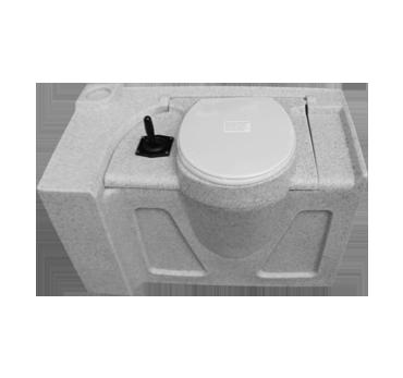 Flush Tank - 80 Litres - white granite