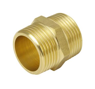 "Nipple - 1"" BSP - Brass"