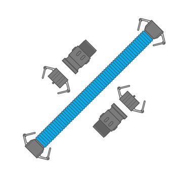 Tuff Tank Linking Kit - Nose-to-tail