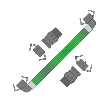 Tuff Tank Linking Kit - Side-by-side
