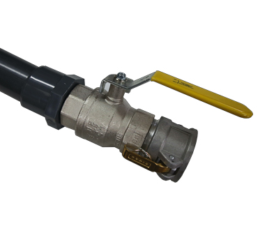 Probe Ass'y - metal valve + female camlock