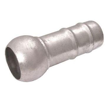 """3"""" Male Hose Tail to Male Connector (Bauer® Type)"""