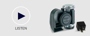Stebel Nautilus 12v Compact Air Horn, 139dB Loud
