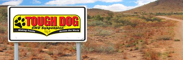 Tough Dog Banner