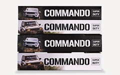 Commando shocks packaging Feature Image