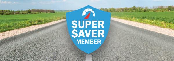 Super Saver banner