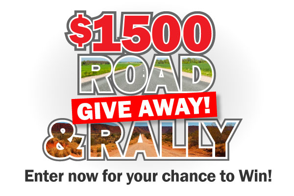 $1500 Road and Rally Give Away
