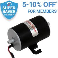 5% off Fuel Pump for Super Saver members*