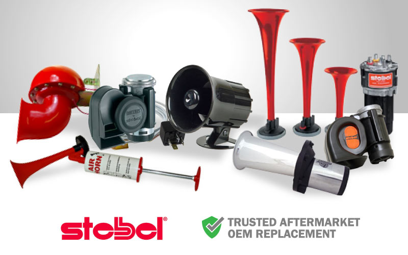 photo of stebel and aftermarket horns