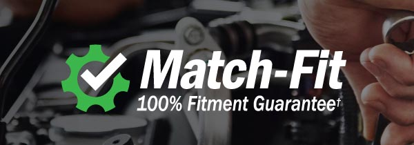Match-Fit Fitment Guarantee Banner
