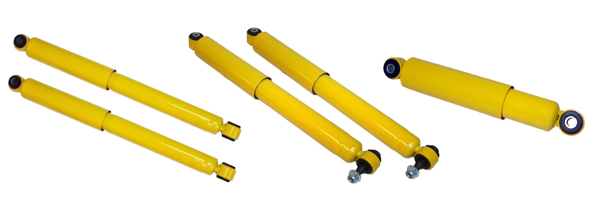 Wide range of Shocks for Cars and 4x4