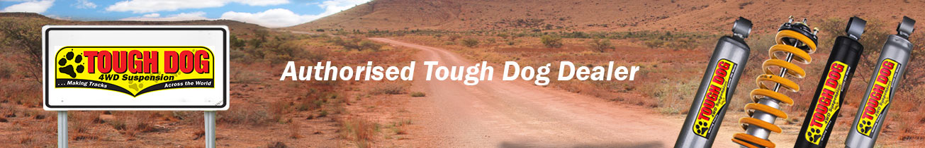 Tough Dog Suspension authorised dealer banner