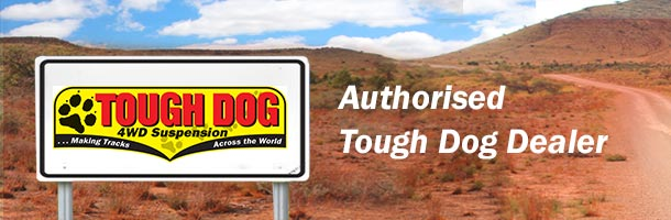 Tough Dog Suspension Authorised Dealer Mobile Banner