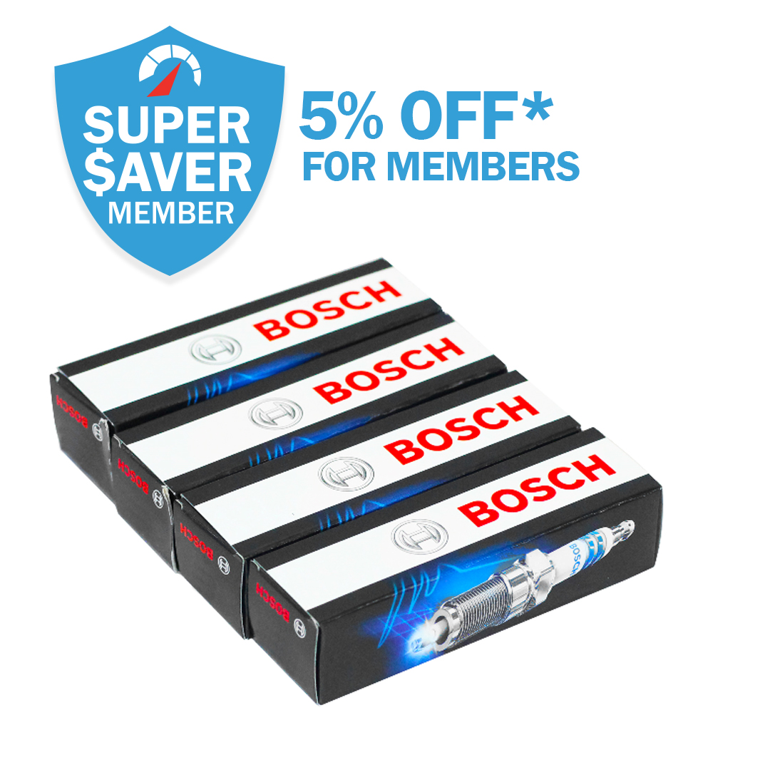 5% Off* Spark Plugs For Members