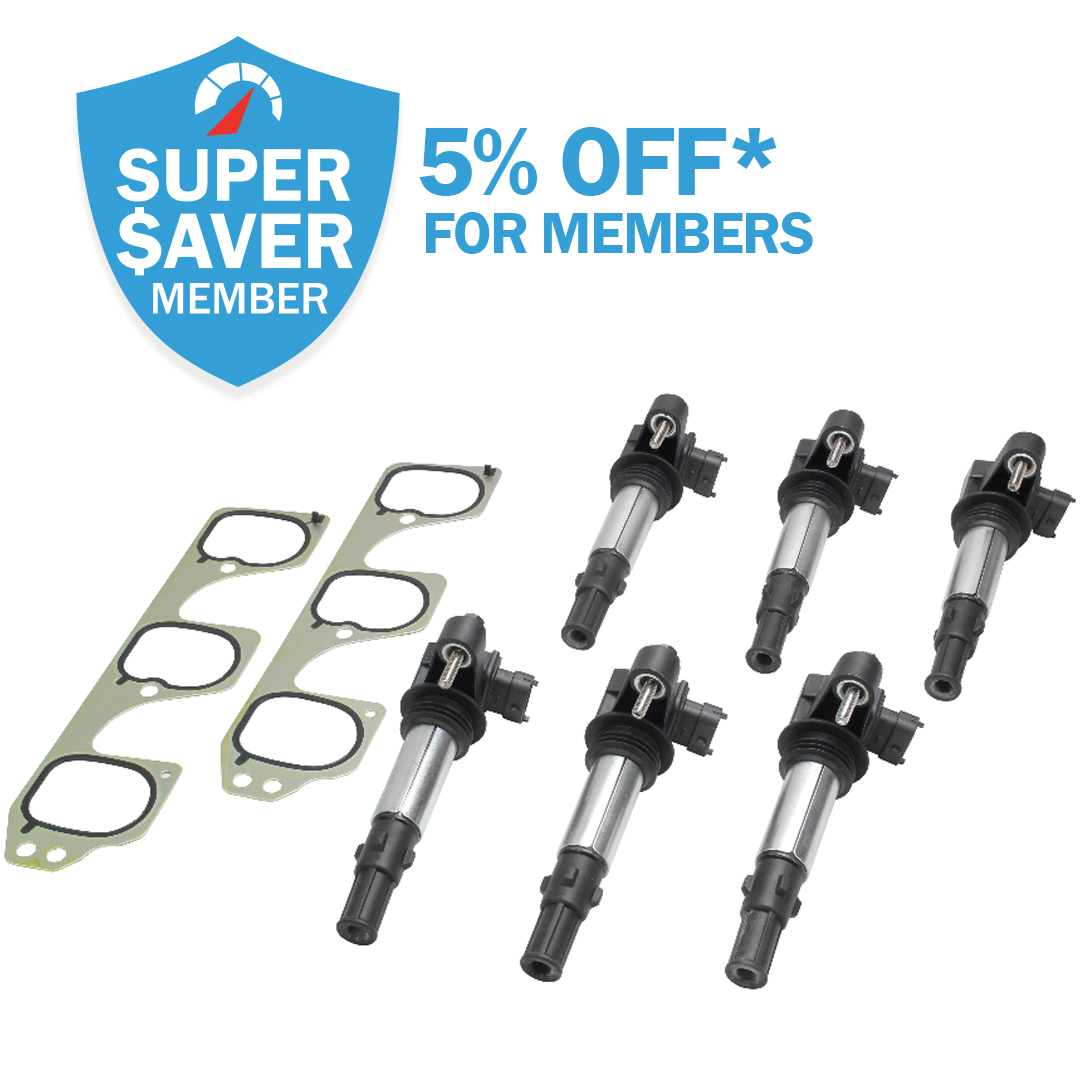 Get 5% Off* Ignition Coils As a Member