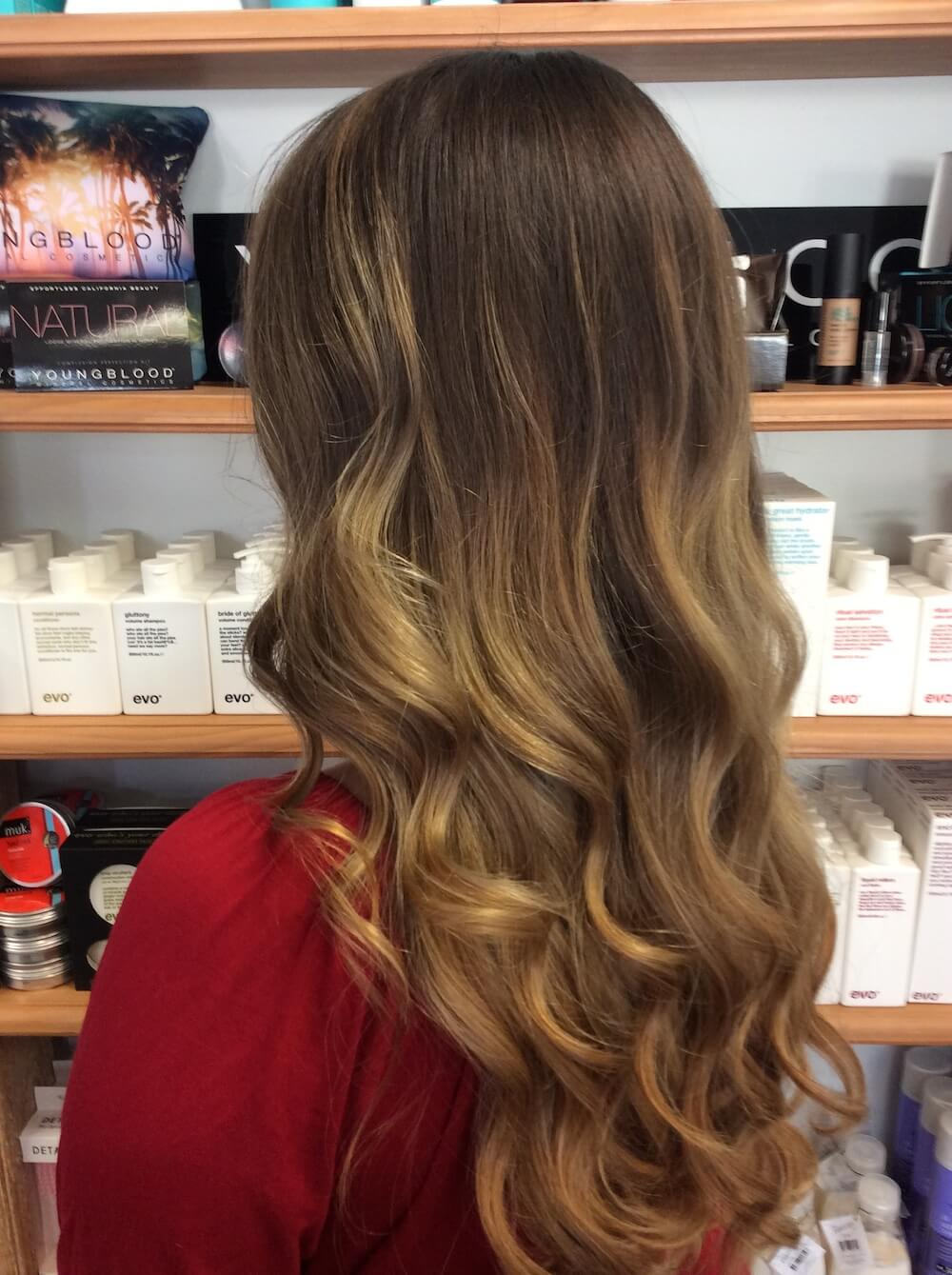 Blonde balayage - Kinks salon, Perth