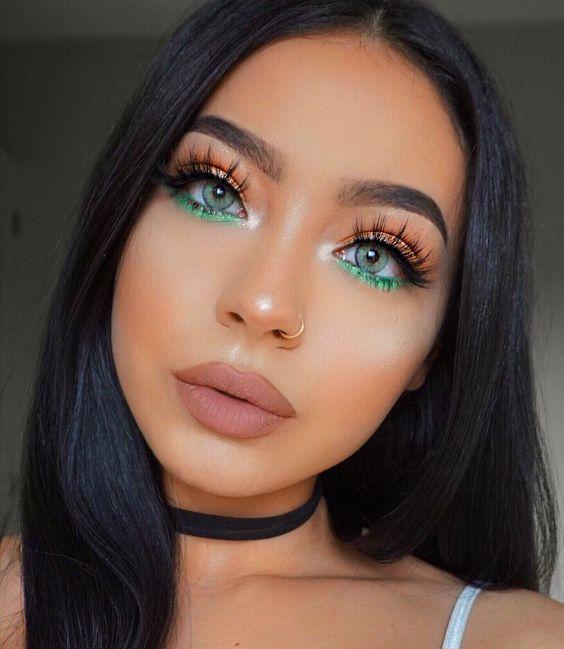 Bold makeup - school ball makeup ideas