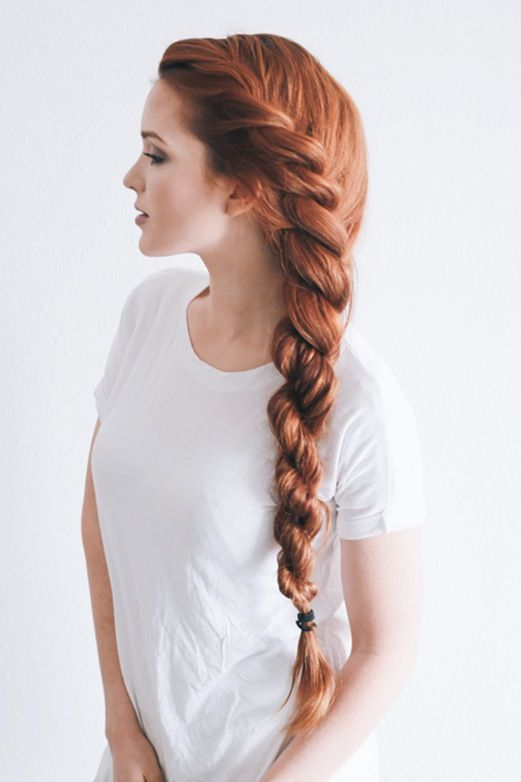 Rope braid - Kink bridal hair