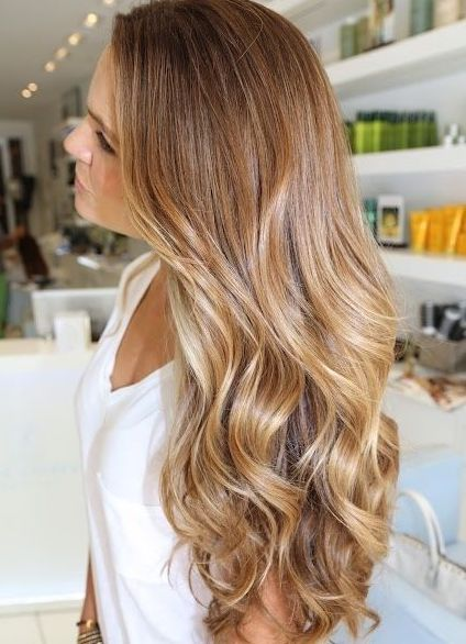Caramel blonde hair - Kinks Fremantle
