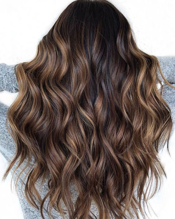 Chocolate ombre - Winter hair trends 2018