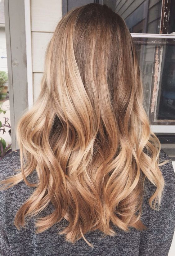 Honey blonde - Winter hair trends 2018