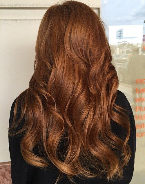 Copper red hair - Kinks Salon