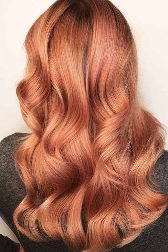 Copper rose gold hair - Kinks Hair & Beauty