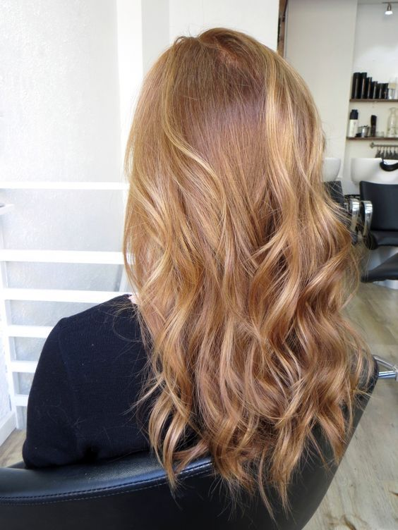 Golden copper hair - Kinks Hair & Beauty