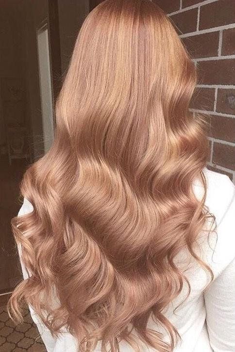 Rose Gold - Winter Hair Colours