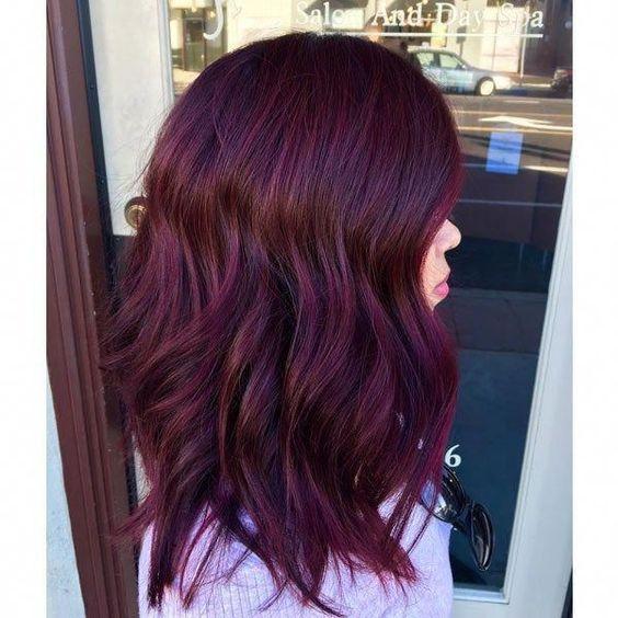 Shiraz Red - Winter Hair Colours