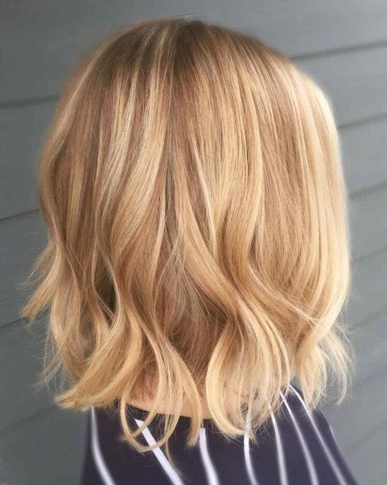 Honey Golden Blonde - Winter Hair Colours