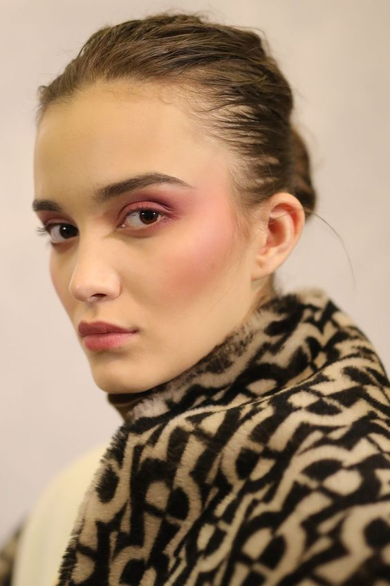 Flush of Blush - Winter Beauty Trends