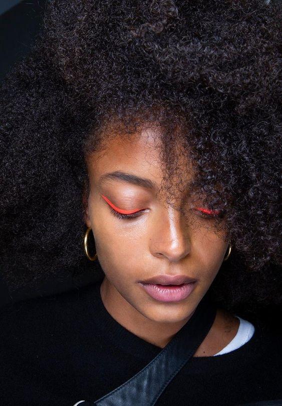 Bold Neon - Winter Beauty Trends
