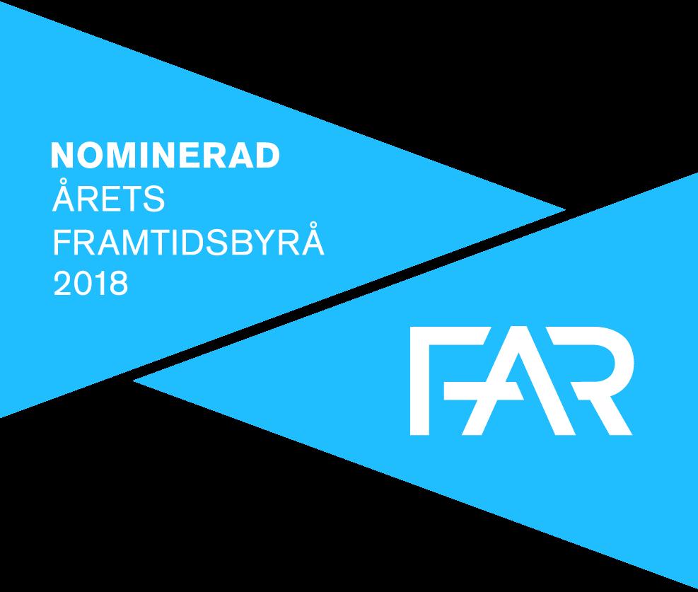 Nominerad Årets Framtidsbyrå 2018